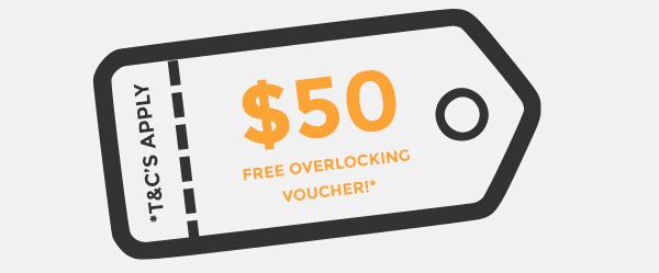 Free Overlocking Voucher